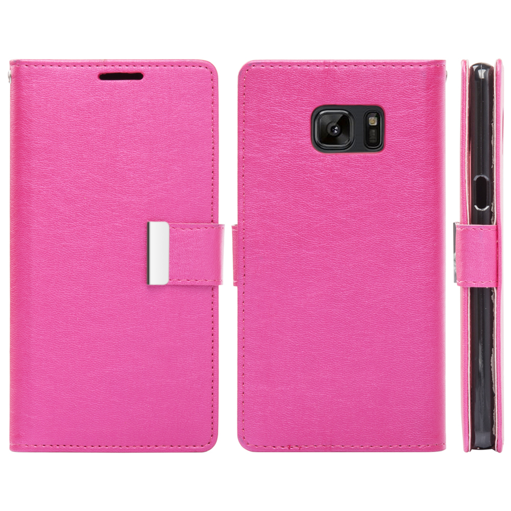 DREM-LPFSAMNT7COMHP-SAMSUNG-GALAXY-NOTE-7-COMPARTMENT-CARD-SLOTS-WALLET-POUCH thumbnail 3